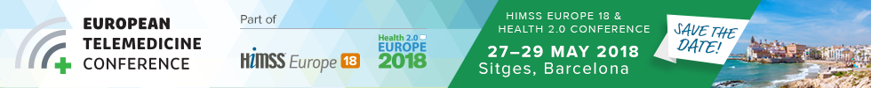 {:da}European Telemedicine Conference 27.-29. maj 2018{:}{:gb}European Telemedicine Conference 27-29 May 2018{:}
