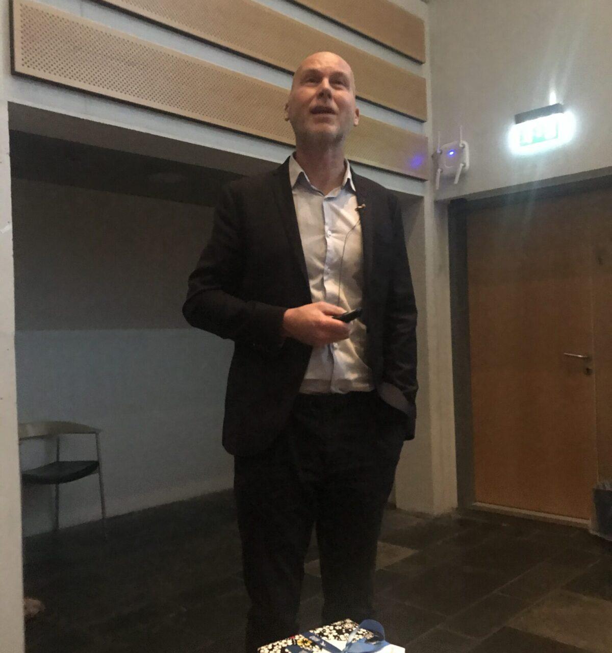 Tiltrædelsesforelæsning for innovationsprofessoren