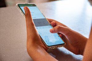 Alarm på smartphone